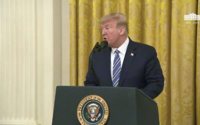 Dr. Stansbury takes part in White House event with President Trump